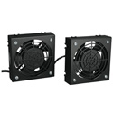 Tripp Lite SRFANWM Wallmount Rack Enclosure Cooling Roof Fan Kit 120V 5-15P