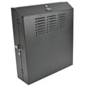 Tripp Lite SRWF4U SmartRack 4U Low-Profile Vertical-Mount Switch-Depth Wall-Mount Rack Enclosure Cabinet