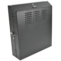 Tripp Lite 4U Low-Profile Vertical-Mount Wall-Mount Rack Enclosure Cabinet 29H x 26W x 8D
