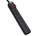 Tripp Lite TLP6B Surge Protector Strip 6 Outlet 6ft Cord 360 Joule Black