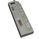 Tripp Lite TLP74TG Surge Protector Strip TL P74 RB 120V Right Angle 7 Outlet Bla