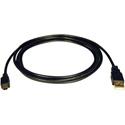 Tripp Lite U030-003 USB 2.0 Hi-Speed A to Mini-B Cable (A to 5Pin Mini-B M/M) 3 Feet