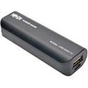 Tripp Lite UPB-02K6-1U Portable 2600mAh Mobile Power Bank USB Battery Charger - Li-Ion