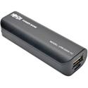 Tripp Lite UPB-02K6-1U Portable 2600mAh Mobile Power Bank USB Battery Charger