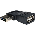 Tripp Lite UR024-000-RA Universal Reversible USB 2.0 Hi-Speed Adapter (Reversible A to Right Angle A M/F)
