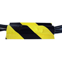 Tunnel Tape 40 Yard Roll - 4-Inch Yellow/Black
