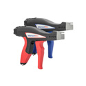 Hellermann Tyton EVO 9 Mechanical Cable Tie Hand Tool - Standard Hand Span - 90 mm - Red