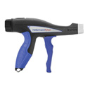 Hellermann Tyton EVO 9HT  High Tension Mechanical Cable Tie Hand Tool - 27 to 116 Pound Tension Range - Blue
