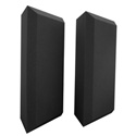 Ultimate Acoustics UA-BTB Professional Acoustic Bass Traps with Bevel Design - Pair