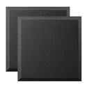 Ultimate Acoustics UA-WPB-24 Bevel-style Absorption Panel Professional Studio Foam - 24 x 24 x 2 Inch - Pair