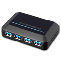 Powered 4-Port Super Speed USB 3.0 Hub