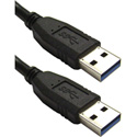 USB 3.0 Cable A Male to A Male - 3 Foot