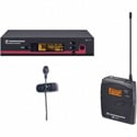 Sennheiser SK100 G3 TX - ME4 Cardioid Lav Mic System - EM100 G3RX - GA3 RM (518-