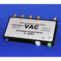 VAC 11-513-104 1x4 Composite Video DA - Standard Input - Global Variable Gain