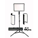 Vidpro FL-180 Flexible Vari-Color LED Light Panel Kit with Stand