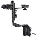 Vidpro MD-430 Pro Moterized Pan and Tilt Gimbal Head; Supports up to 12lbs - Wired Joystick Remote and Soft Carry Case