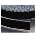 VELCRO® Brand 190984 Tape On A Roll Pressure Sensitive Acrylic Adhesive Loop - 1 Inch x 25 Yards - Black
