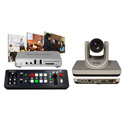 A Video Streaming Kit with Roland V-1SDI Switcher and Matrox Monarch HD and 1pc AV-1360 PTZ Camera
