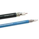 Gepco VSD2001TS Plenum RG6 HD-SDI Coaxial Video Cable 500 Foot Black