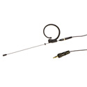 Voice Technologies VT901MKII Earhanger Microphone w/3.5 mm TRS for Sony UWP/WRT-