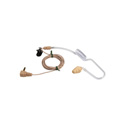 Voice Technologies VT600T Earphone with Coiled Acoustic Tube - Beige