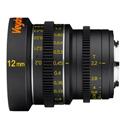 Veydra V1-12T22M43M Mini Prime Lens 12mm T2.2 MFT Mount - Metric Focus Scale