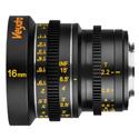Veydra V1-16T22M43I Mini Prime Lens 16mm T2.2 MFT Mount - Imperial Focus Scale