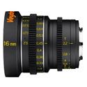 Veydra V1-16T22M43M Mini Prime Lens 16mm T2.2 MFT Mount - Metric Focus Scale