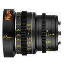 Veydra V1-25T22M43I Mini Prime Lens 25mm T2.2 MFT Mount - Imperial Focus Scale