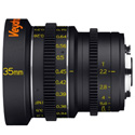 Veydra V1-35T22M43M Mini Prime Lens 35mm T2.2 MFT Mount - Metric Focus Scale