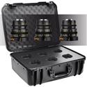 Veydra Mini Prime 12/25/50mm MFT Mount 3 Lens Kit with 6 Lens Hard Case - Imperial Focus Scale