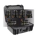 Veydra Mini Prime 12/16/25/35/50/85mm MFT Mount 6 Lens Master Kit with 6 Lens Hard Case - Imperial Focus Scale