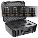 Veydra Mini Prime 16/25/35/50mm T2.2  MFT Mount 4 Lens Kit with Hard Case - Imperial Focus Scale
