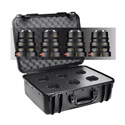 Veydra Mini Prime 25/35/50/85mm Sony E Mount 4 Lens Kit with 6 Lens Hard Case - Imperial Focus Scale