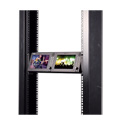 Viewz VZ-070RM-3G Dual (Two) 7-Inch HD Broadcast IPS 8-Bit Rackmount Monitor
