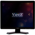 Viewz VZ-19RTN 19 Inch Black Pro-Grade 1280x1024 LCD Monitor - VGA/HDMI/ BNC (2x1) - 12VDC Power Supply
