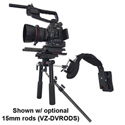 Varizoom VZ-DVMEDIARIG Shock-Absorbing Shoulder Support for HD & DSLR Cameras