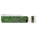 Ward-Beck openGear D6203A+RM Analog-to-AES/EBU Digital Converter w/Rear Terminal