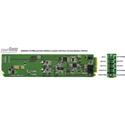 Ward-Beck D6203/A110-RM Analog-to-AES/EBU Digital Audio Converter plus T6303A Rear Module for 110 Ohm - OpenGear Series