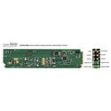 Ward-Beck openGear D6204A+RM AES/EBU Digital-to-Analog Audio Converter w/Rear Terminal Module