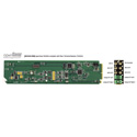 Ward-Beck openGear D6204A plus RM AES/EBU Digital-to-Analog Audio Converter w/Rear Terminal Module