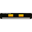 Ward-Beck MP2(1P1V) Rackmount PPM & VU Meter Panel