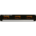 Ward-Beck MP3(PPM) Rackmount Triple PPM Meter Panel