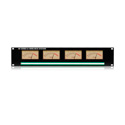 Ward-Beck MP4(PPM) Rackmount Quad PPM Meter Panel