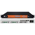 WellAV SMP100 Chassis Providing 8 8VSB and 8 Channels of IQAM Inputs and IP Output Stream Media Platform