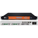 WellAV SMP100 Chassis Providing 4 8VSB and 4 Channels of QAM Inputs and IP Output Stream Media Platform