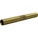 FiberPlex WEB-6 Waveguide Extension Tube Brass 6 In Long Body Thread Size 1.125 In 18 NEF for Extending Waveguides