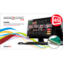 STREAMSTAR WEBCAST LiTE 4S Sports Edition with Four-Input HDMI Capture Card