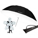 Westcott 1211C Spiderlite TD6 Parabolic Umbrella Kit with Bonus Diffusion Panel