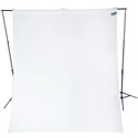 Westcott 134 Wrinkle-Resistant 9 Foot x 10 Foot Video Backdrop - High-Key White